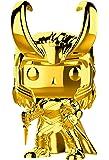 Funko Pop Marvel Studios 10-Loki (Gold Chrome) Collectible Figure, Multicolor