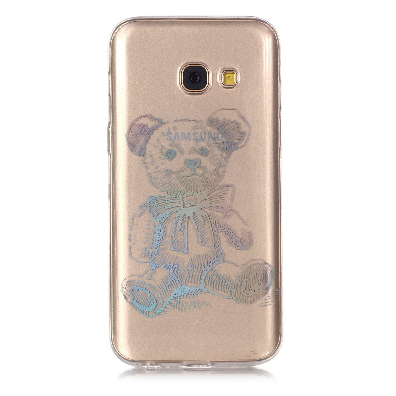 Lomogo Samsung Galaxy A3 2017/A320 Hü lle Silikon Durchsichtig mit Muster, Schutzhü lle Stoß fest Kratzfest Handyhü lle Case fü r Samsung Galaxy A3 (2017) - LOYHU21325#9