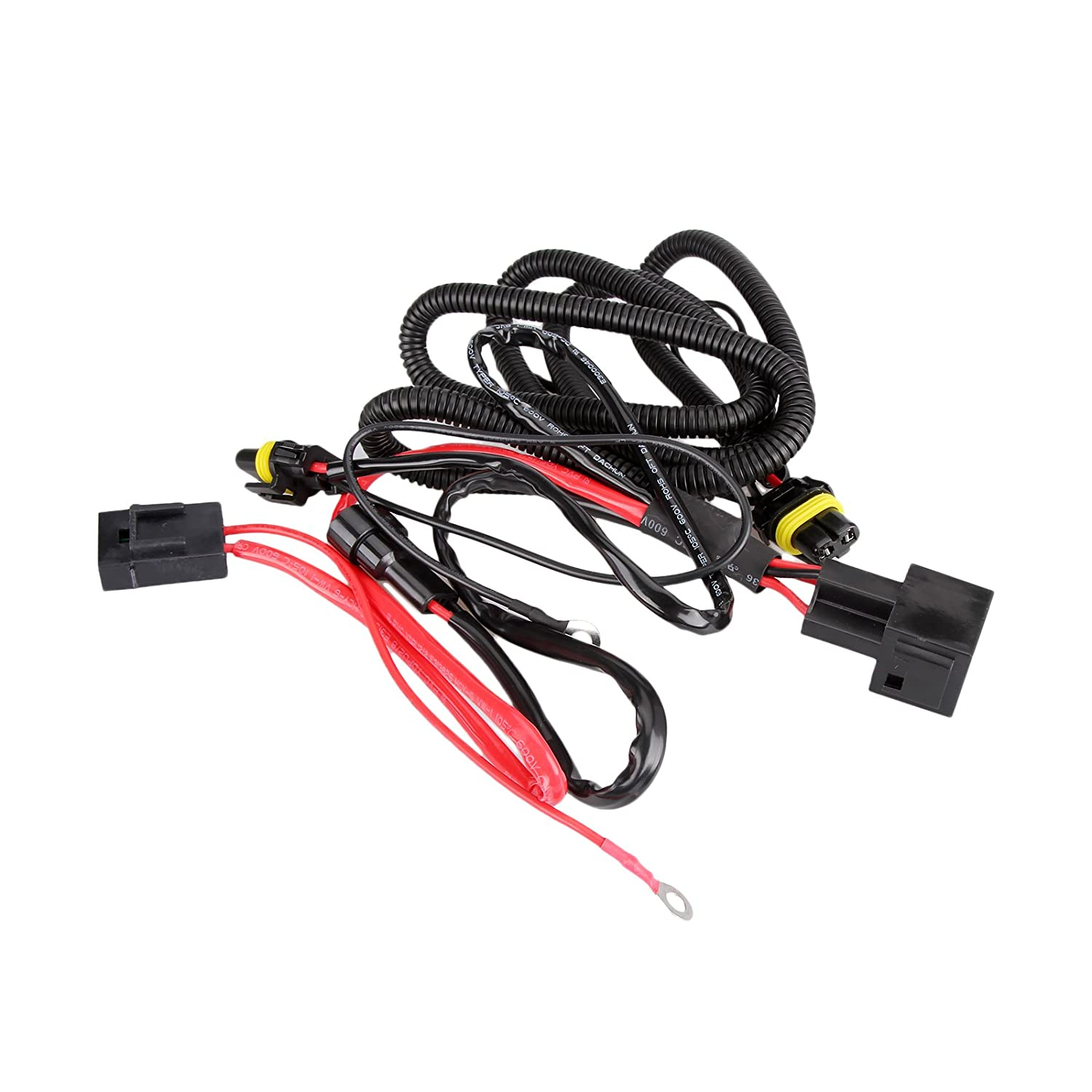 Dromedary Xenon Hid Conversion Kit Relay Wiring Harness H1 H7 H8 H9 H11 9005 9006 5202