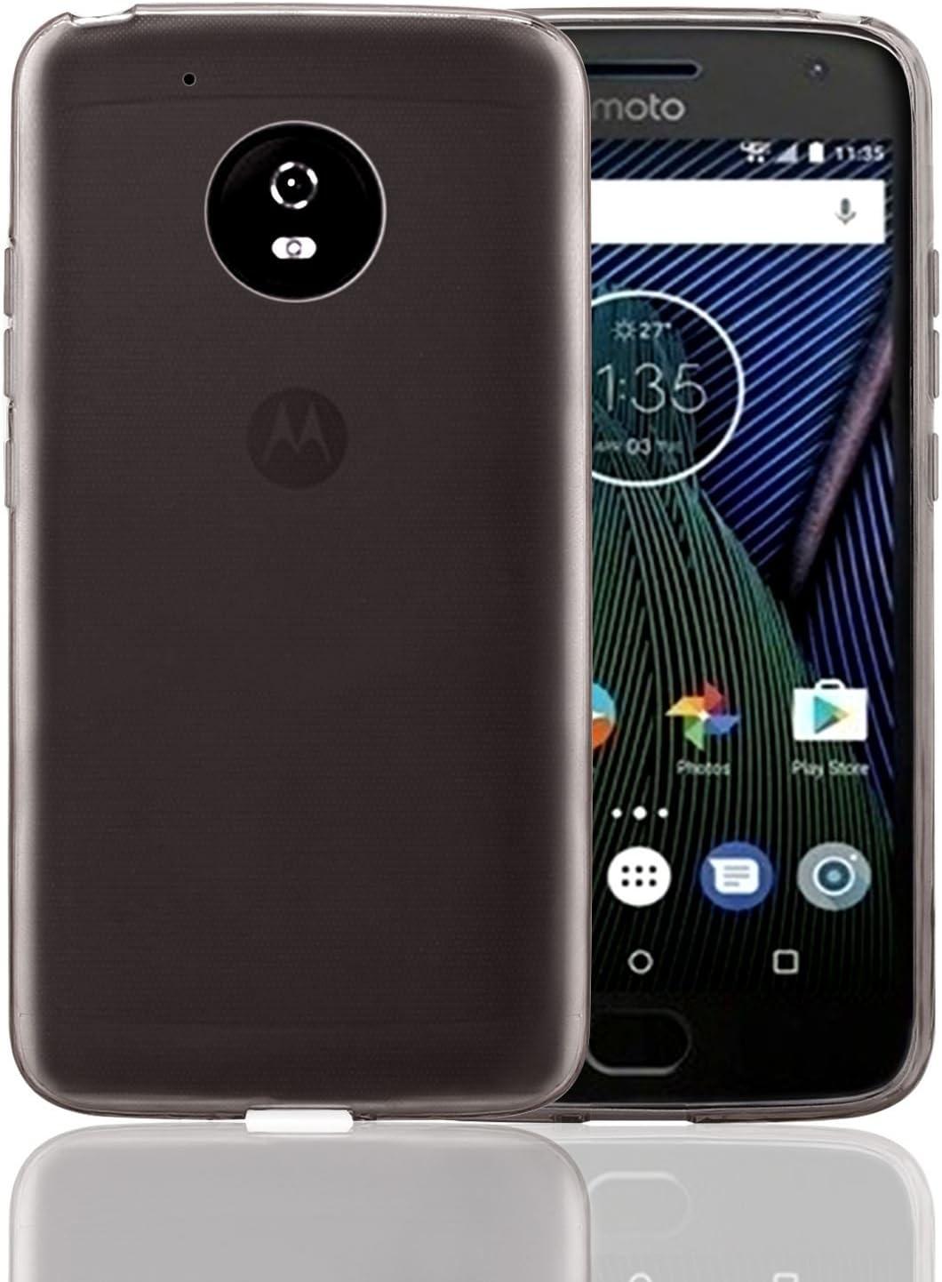 32nd Funda Slim Gel de Silicona Transparente para Motorola Moto G5 ...