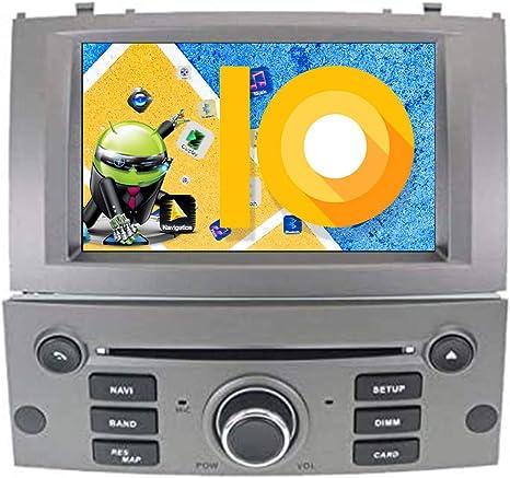 ZWNAV - Reproductor de DVD estéreo para el coche, con pantalla HD 1080P de 7 pulgadas, con tecnología Android 9.0, GPS, radio, Bluetooth, wifi y OBD: Amazon.es: Electrónica