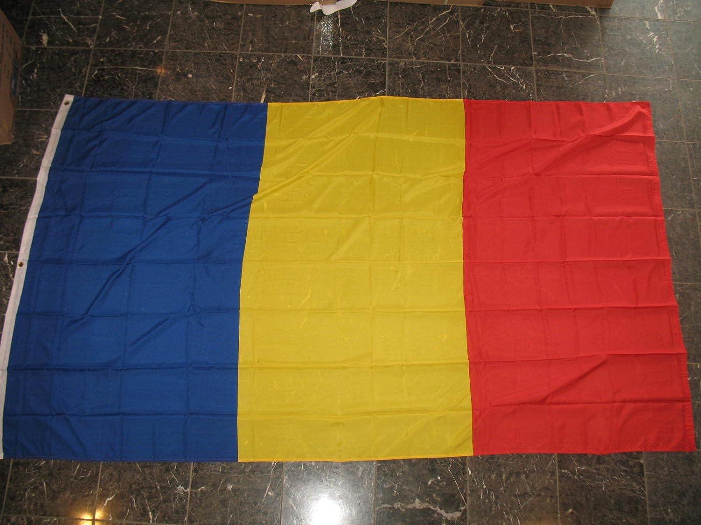 【着後レビューで 送料無料】 5 x 8 x8 ft RomaniaルーマニアフラグRough Texニット5 ' x8 ' 'バナー 'バナー B01N005D9E, 熊野町:91e95862 --- asindiaenterprises.com