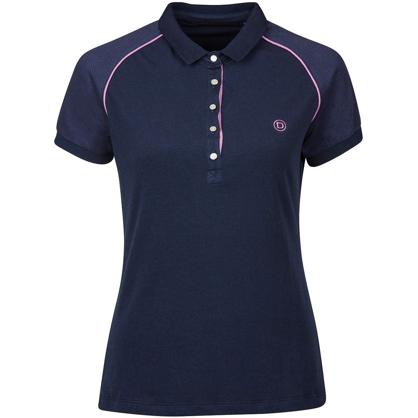 Dublin Keller Polo - Ladies Short Sleeve Show Eventing Pony Horse Riding Shirt