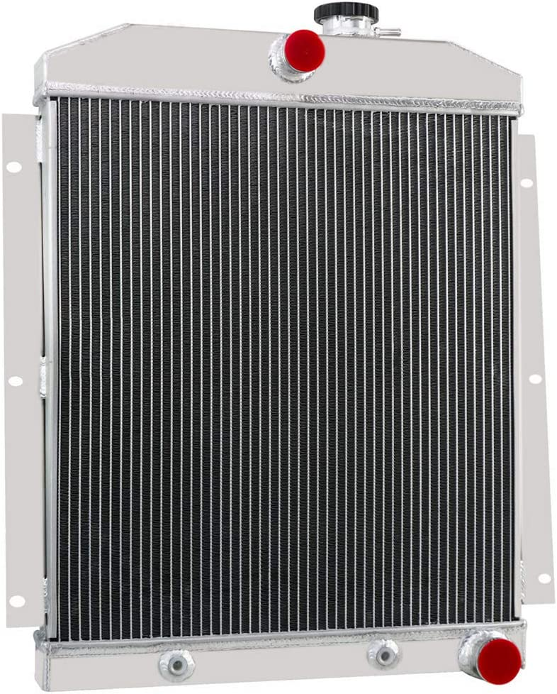 CoolingSky 55MM 3 Row Core Aluminum Radiator for 1947-1954 Chevrolet Trucks Pickup Direct Replacement