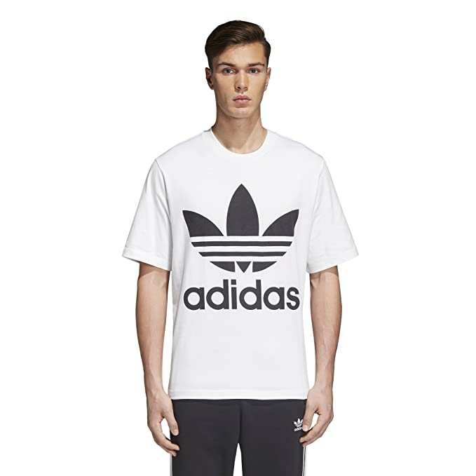 253a0db86e88ae adidas Originals Mens Men's Trefoil Oversized T-Shirt Athletic Shirt:  Amazon.ca: Clothing & Accessories