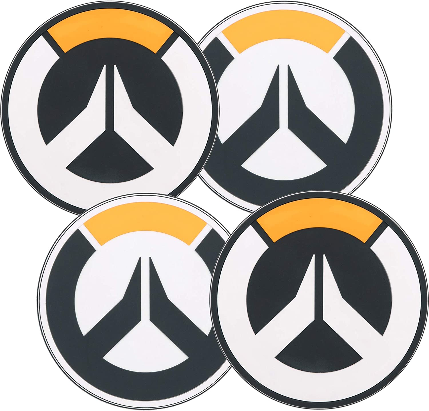 Jinx Coasters Overwatch Logo 4 Pack New J8917 Amazon Co Uk Toys Games