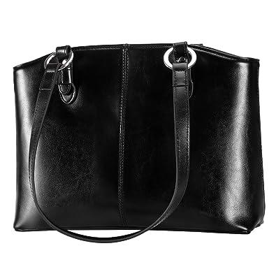 Amazon.com  DanPi Women s Tote Bags Leather Large Handbags Work Shoulder  Bags Black  Shoes d30e327e090fa