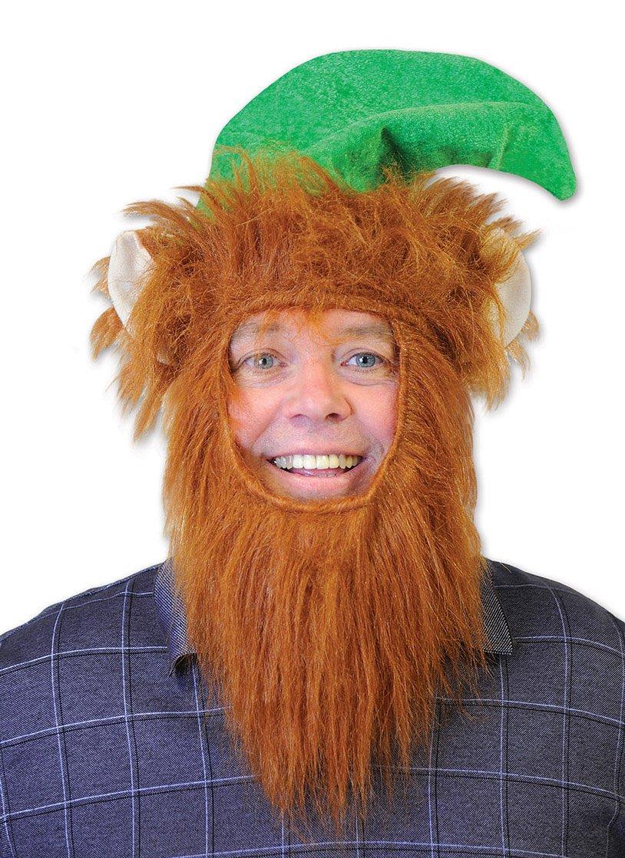 Amazon.com  Beistle 20810 Hat with Beard 44b10f7ff2f1