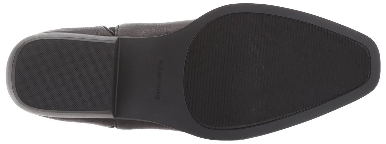 Rampage Women's Leesa Slip on Basic Double Gore Chelsea Bootie Ankle Boot B06W56R1BJ 6 B(M) US|Black