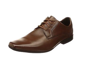 TALLA 41 EU. Clarks Glement Lace, Zapatos de Cordones Derby Hombre