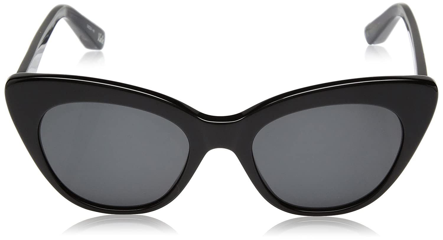 9ae8229b0d6fe Amazon.com  Elizabeth and James Women s Vale Cateye Sunglasses Black 51 mm   Clothing
