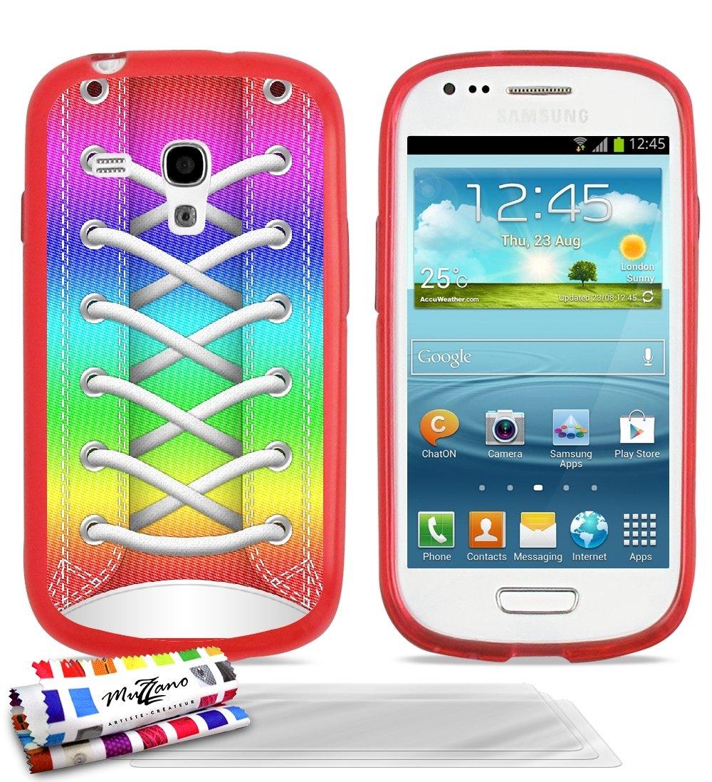 ultraplana suave Carcasa Samsung Galaxy S3 Mini [Zapatillas ...
