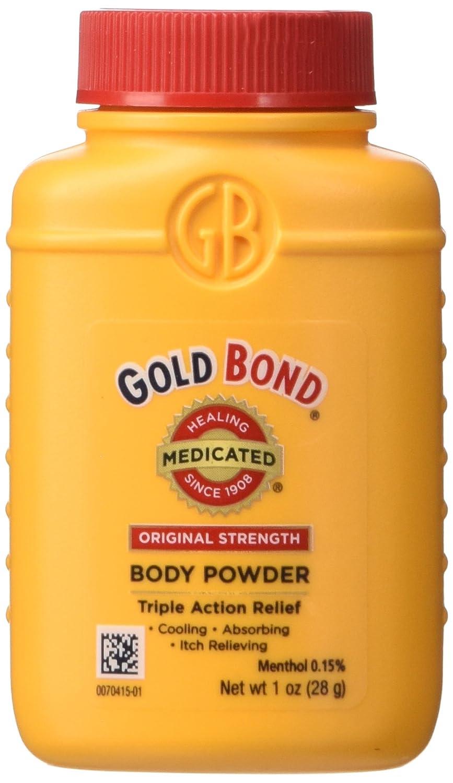 Gold Bond Medicated Body Powder Original Strength 1 oz LIB788640
