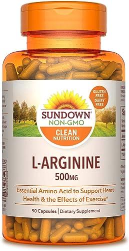 Sundown L-Arginine 500 mg, 90 Capsules