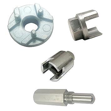 3 X Embrayage retrait outils + Vis de verrouillage de piston pour ...