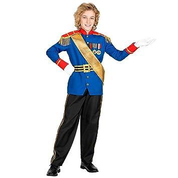 WIDMANN 00175 - Disfraz de príncipe encantador para niños (116 cm ...