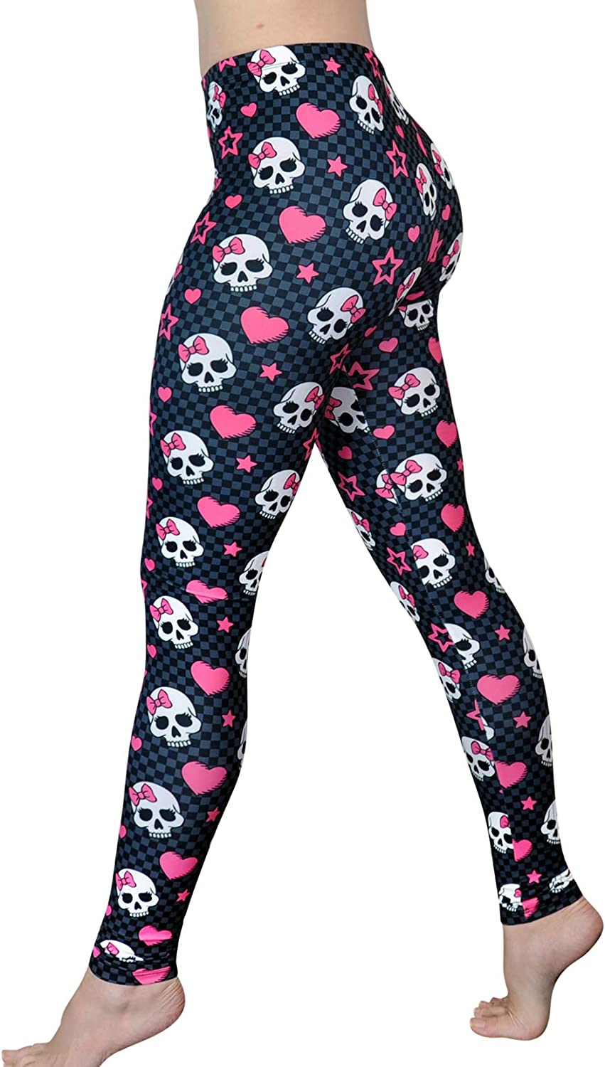 Colorful Exotic Birds Yoga Tights Short Running Pants Workout