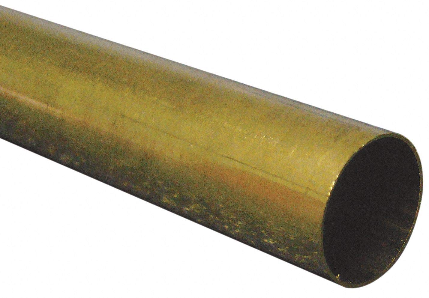 "K/&S Metal Round Tube 17//32/"" D X 12/"" L Brass Carded"
