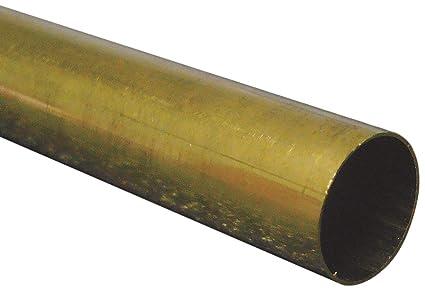 KS Metal Round Tube 9 16 DX 12 L Brass Carded