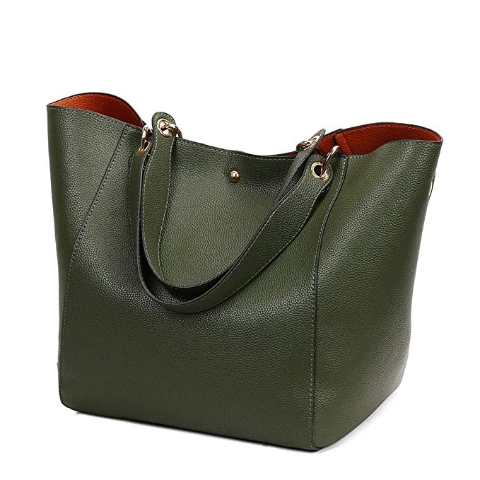 Image Unavailable. Tote Bags for Women Soft Leather Handbags Large Capacity  Classic Retro Ladies Tote Handbags PU Leather 8b38270f82399