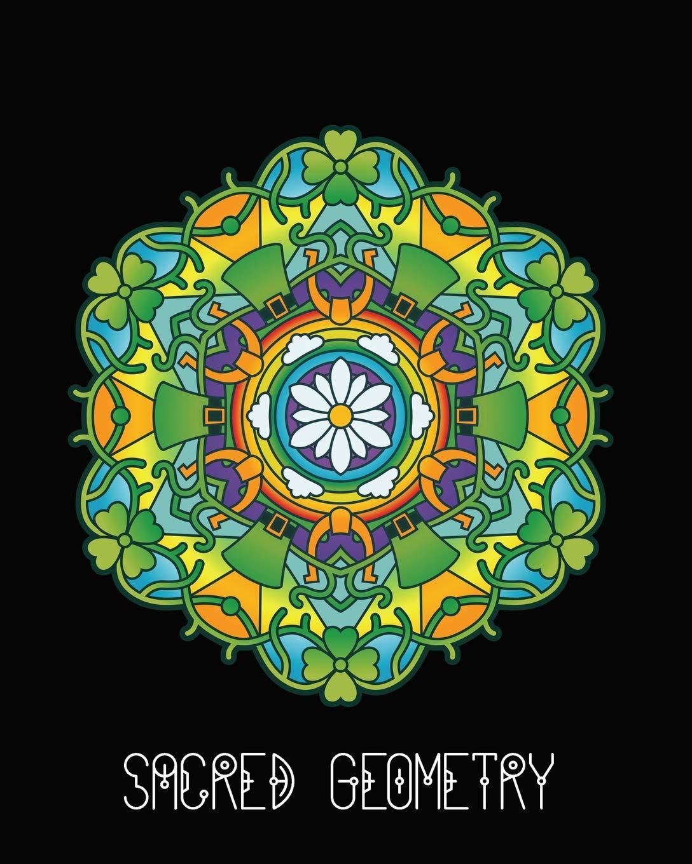 Sacred Geometry: Lucky Clover Mandala Art Journal Cover ...