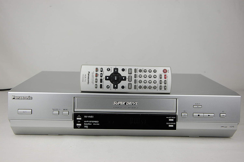 Panasonic NV-HV61EG-S VHS Videoregistratore nvhv61egs