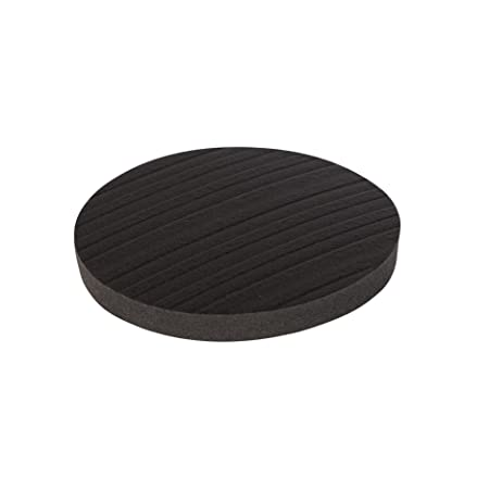 Stay! Furniture Grippers. Keep Furniture From Sliding On Hard Surface Floors.  Black ROUND