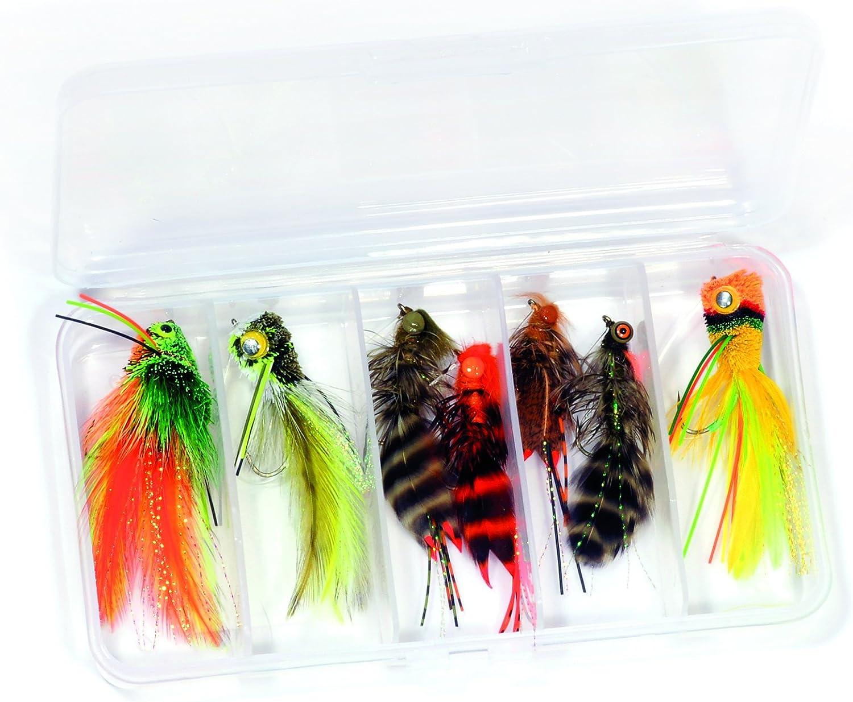 5 Flies Tongina Streamer Fly Fishing Flies Kit