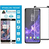 SPARKLING TRENDS 3D Tempered Glass for Samsung Galaxy S9 Plus, 6.2-inch (Black)