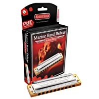 Hohner armónica Marine Band Deluxe m200501X C