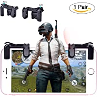 LLARIMIN Mobile Game Controller [Newest Version],Sensitive Shoot and Aim Keys L1R1 Shooter Controller for PUBG/Fortnite/Rules of Survival,Phone Game Controller for Android IOS(1 Pair)