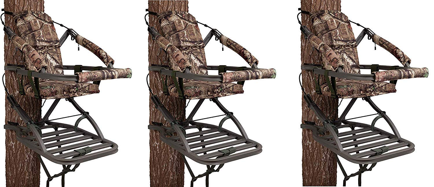 Summit Treestands 81120 Viper SD Climbing Treestand, Mossy Oak (Pack of 3)