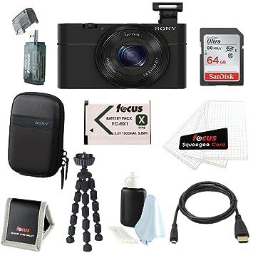 Amazon.com: Sony DSC-RX100 RX100 rx100b dscrx100 20,2 MP ...