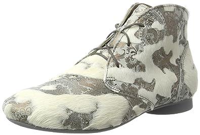 Think Damen Guad_181988 Desert Boots, Grau (Quarz/Kombi 17), 37 EU