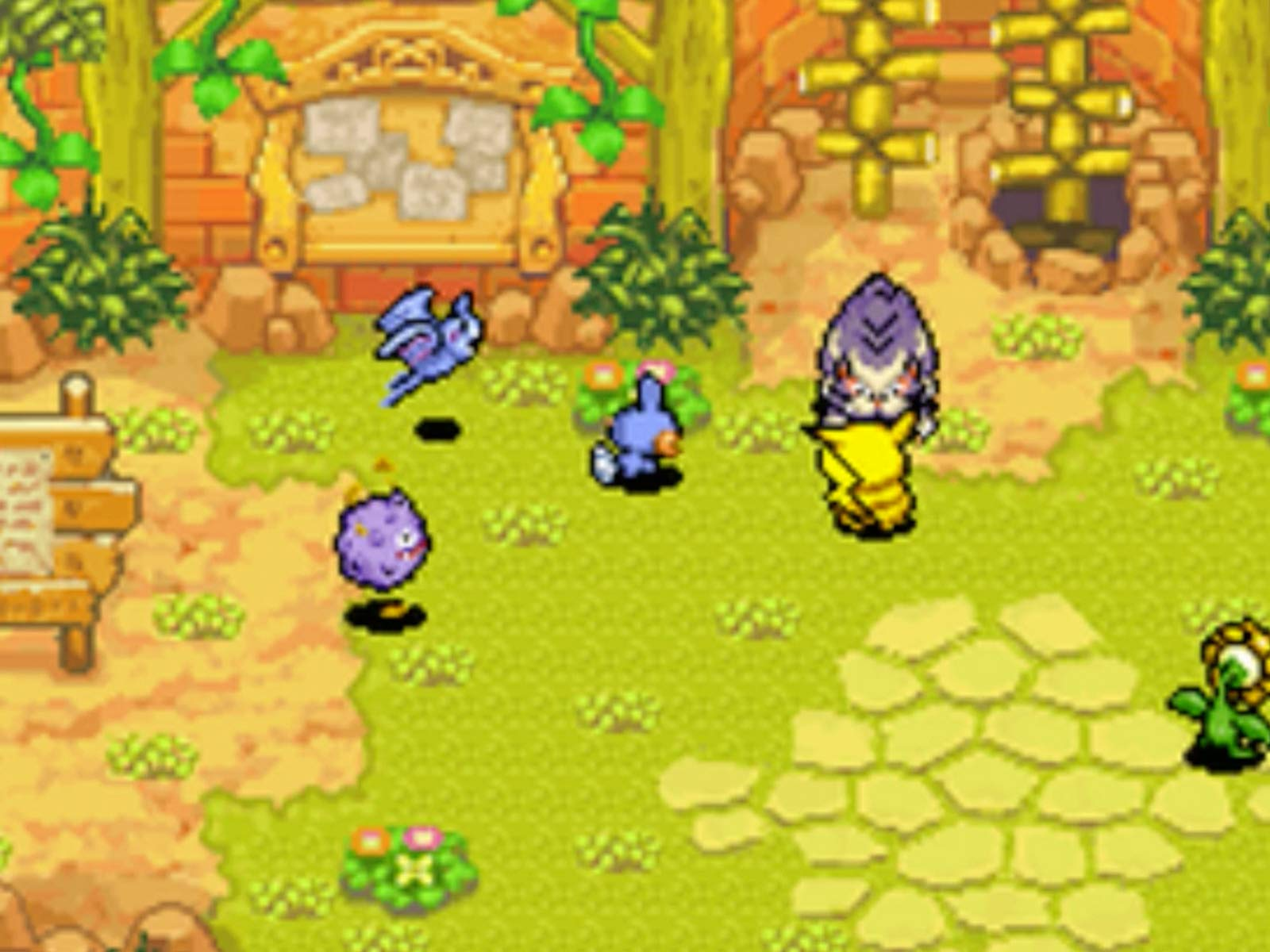 Watch Pokemon Mystery Dungeon Explorers Of Sky Gameplay With Mega