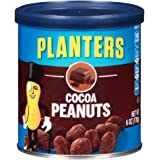 Planters Flavored Peanuts, Cocoa, 6 Ounce Canister