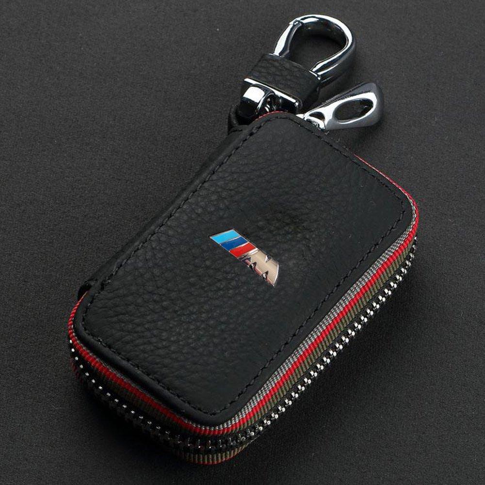 BMW Estuches de Llaves Coche Auto de llave Key Cover Case Funda para Llavero de Piel con Cremallera X00-4 buy-buy-buy