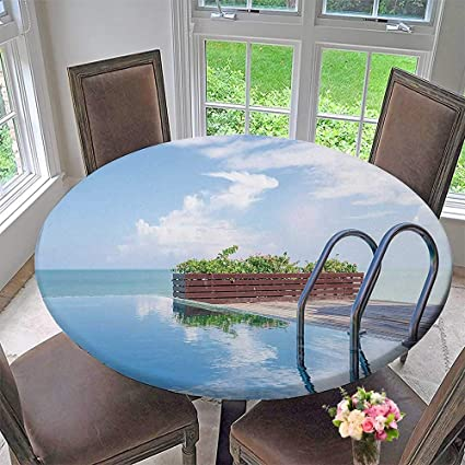 Magnificent Amazon Com Circular Table Cover Limitless Swimming Pool Download Free Architecture Designs Scobabritishbridgeorg