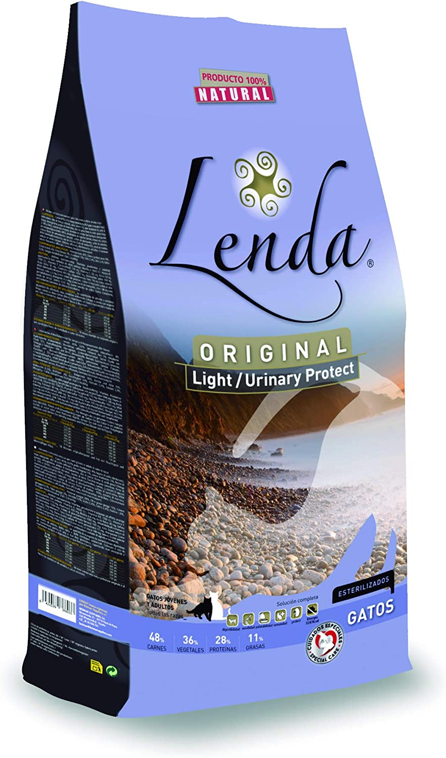 Lenda Original Adult Cat Urinary, Comida para Gatos - 2000 gr: Amazon.es: Productos para mascotas