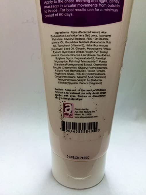 Amazon.com : Real C Reafirmante Busto Crema, 4 Oz Bust up Body Cream : Beauty