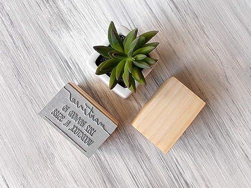 Housewarming Gift T68 Self Inking Stamp Custom Return Address Stamp Wedding Present Wood Stamp Bridal Shower Gift Christmas Present