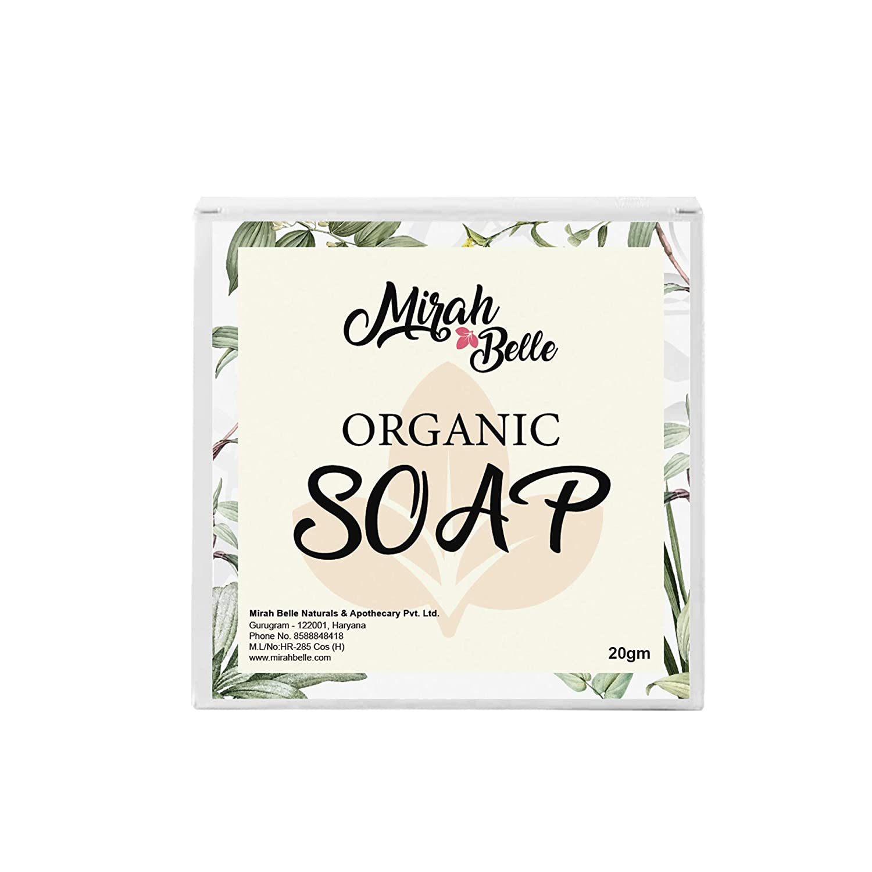 Mirah Belle – Organic Soap Bar (20 gms) – FDA Approved
