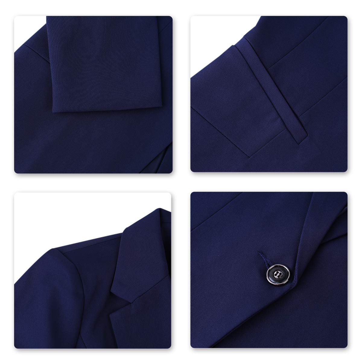 Womens 2 Piece Office Lady Business Suit Set Slim Fit Blazer Pant