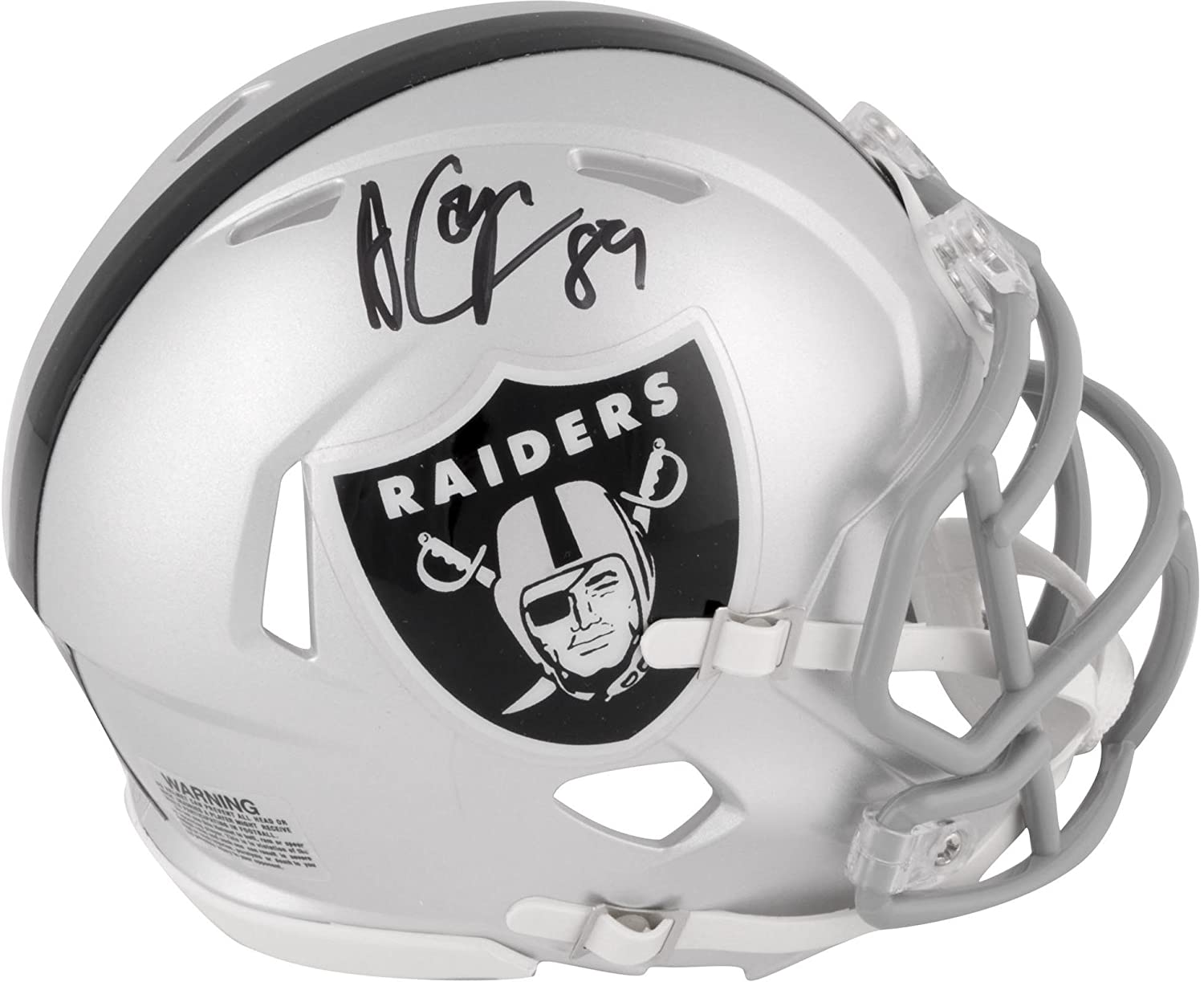 Amari Cooper Oakland Raiders Autographed Riddell Speed Mini Helmet - Fanatics Authentic Certified - Autographed NFL Mini Helmets