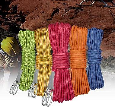 LLluckyHW Cuerda de polímero, Cuerda Resistente y portátil, Adecuada for la decoración de Muebles de jardín en Bote, Colgador de Plantas de Bricolaje Hecho a Mano (Color : D30M): Amazon.es: Deportes y