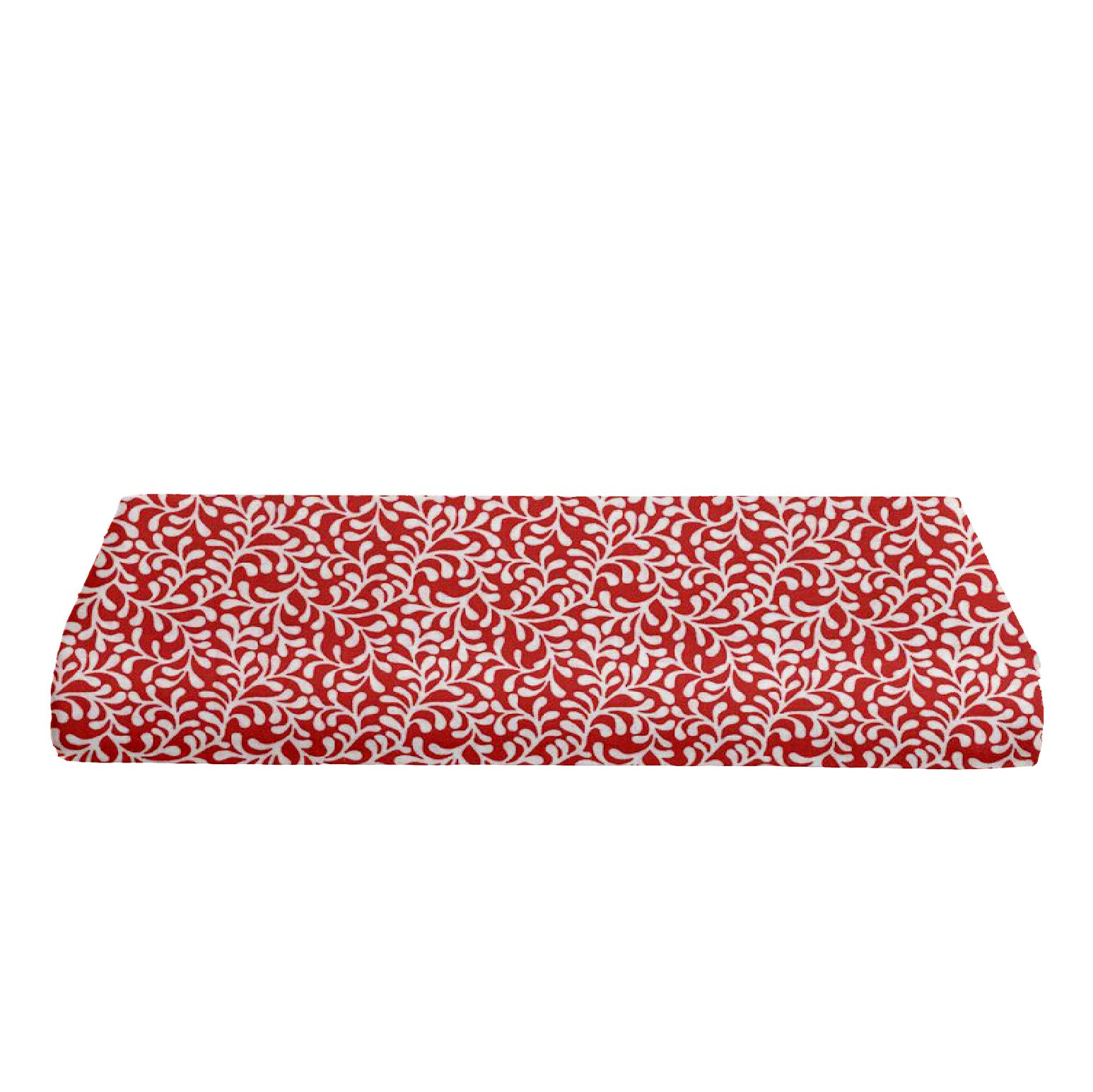 BKB Contour Changing Pad Cover, Plume Bloom Red