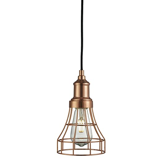 Searchlight velas largas jaula lámpara de techo para cama ...