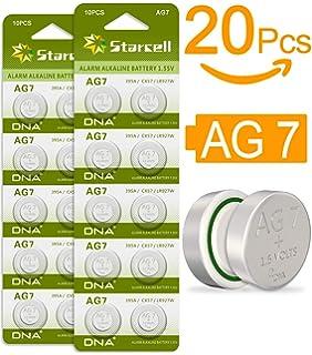 39db42abb7b9 Act Celdas sin Mercurio AG7 alcalinas de botón LR57 LR926 395 (1