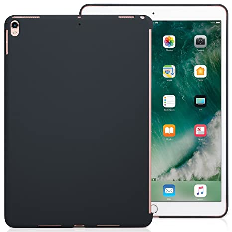 KHOMO - iPad Pro 10.5 Inch & iPad Air 3 2019 Charcoal Gray Color Case - Companion Cover - Perfect match for Apple Smart keyboard and Cover