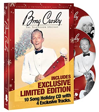 bing crosby the television specials volume 2 the christmas specials deluxe edition 2dvd - Bing Crosby Christmas Special